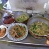 幸運な病のレシピ( 1990 )朝:豚丼風炒め、ホッケ味醂漬、鮭、味噌汁、マユのご飯