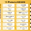 #Twitterトレンド大賞 2019