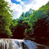 【滝】歓満の滝。訪れた人に幸せが満ち溢れる滝。南会津舘岩方面を旅しよう。
