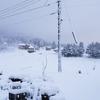 ほぼ一日中風雪注意の空模様⛄