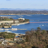 日本三景・松島のビュースポット「西行戻しの松公園」へ