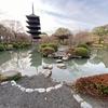 東寺の瓢箪池(京都府京都)