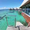ニューカレドニア⑧ 【そのまま海に下りれる】メトル島の水上コテージに宿泊【レスカパイロメイト】