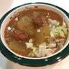 ストウブで、冬瓜とサバ缶の煮物