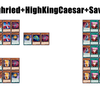 D/D Basic Combos② 【Sieghried+HighKingCaesar+Savage】