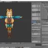 Blenderで編集したユニティちゃんをUnityに取り込む その1(ボーンの修正)