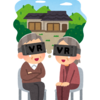 VR chat で 1-on-1