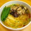 【レシピ】牡蠣のアヒージョラーメン