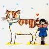 【ご報告】猫グッズ専門店「Dolalumama」にて、イラストの展示が決まりました