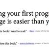 自分でプログラム言語を書いてみたい人は「Create Your Own Programming Language」がおすすめ