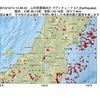 2015年10月14日 14時46分 山形県置賜地方でM3.7の地震