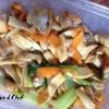オイマヨ旨し!鶏肉と青梗菜のオイマヨ炒め