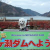 宮ケ瀬ダムのイルミ