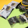 【組み立て中】レゴ テクニック「42055バケット掘削機」、4日目 だんだん形になってきました。