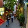 観光地と居住地が混在する石庫門:田子坊