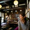 高山の古い町並みにある藍花珈琲店