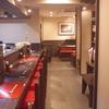 安東の席はこんなの 神戸三ノ宮の駅近お食事は安東へ