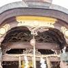 瀧尾神社の木彫
