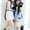 ユウシ☆さん&浅絵綾人さん(澪にゃん&あずにゃん/けいおん!) 2012/8/12となコス