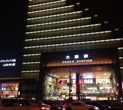 ★JR大阪駅@夜