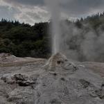 「レディ ノックス ガイザー(Lady Knox Geyser)」~一定の時間に高さ20m噴き上げる怪しい間欠泉!!