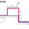 鹿児島市交通局(路面電車) 運行系統図
