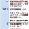 辞任ドミノ再来警戒 12年前安倍政権 参院選惨敗の悪夢 - 東京新聞(2019年4月12日)