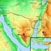シナイ山の場所と出エジプトルート