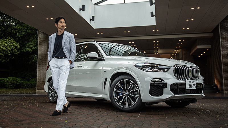 クルマに求める愉悦がここに BMW「X5 xDrive35d」