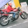 バイク乗りと花粉症