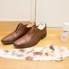 茶色の靴を黒のクリームで磨いたら、いい感じになった話。