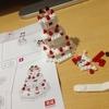 ダイソー プチブロック(PETIT BLOCK) ウェディング・お祝い3 ウェディングケーキ