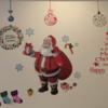個人輸入した材料でクリスマスの飾りつけを楽しみました