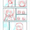 【漫画制作】初4ページ漫画挑戦中(進捗35%) 日によって出る作業スピードの差異