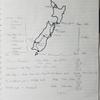NZ南島ドローン&自転車縦断一人旅 ~計画編~