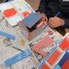 4年生:図工 ギザギザ完成、読書感想画も