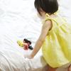 ここ最近の手作り子供服。レモン色キャミソール/ピンクのブラウス