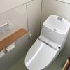 手すり完備のあんしんトイレ