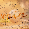 [Photoshop ] 雨 曇りガラス