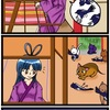 『ほら、ここにも猫』・第253話「雨の七夕」( rainy Tanabata festival )