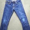 nudie jeans(ヌーディージーンズ) 1年2ヶ月 色落ちレポート