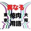 【知らないと困るかも】東京と大阪で呼び方が異なる焼肉用語