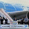 ANA's way:Fly NG by Japan's only A380