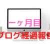 ブログ開設から一ヶ月目のリアルな経過報告~♪