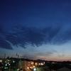 2019年4月5日の空に広がる雲