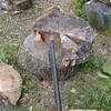 薪ストーブ始生代⑦薪割り場所を変える