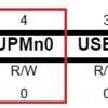 USART / レジスタを少しいじってみる / パリティビットを加えてみる