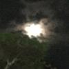 今宵は小望月です