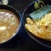 無鉄砲つけ麺無極 濃厚豚骨つけ麺(肉増し半分) 野方駅