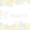 パステル調のカラフルな短形フレーム2a